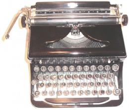Remember typewriters with ribbons?