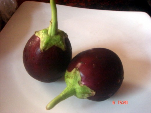 chubby aubergines