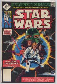 Star Wars #1 35 cent variant issue by Marvel Comics. Limited Distribution with only around 1500 copies in existence.