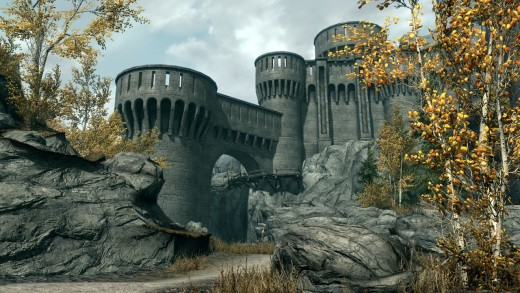 The fort of the Dawnguard