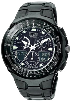 Men's | Blackened Steel | Eco-Drive