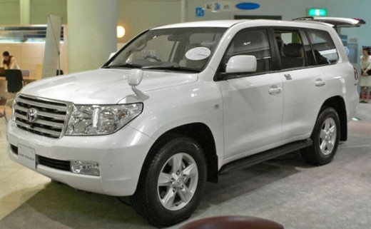 Armored Toyota Land Cruiser 200 Series