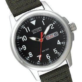 Men's | Eco-Drive | Canvas Strap