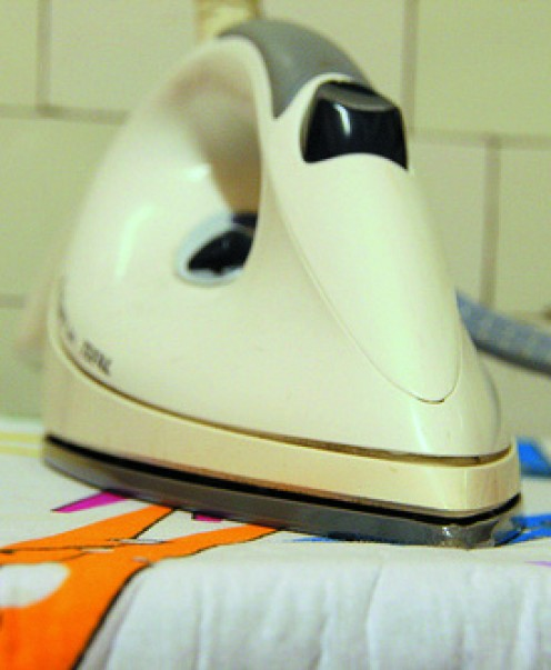 Ironing will give your linen clothes a crisp appearance.