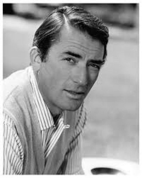 GREGORY PECK.