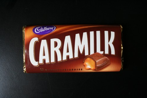 Oh Caramilk, please  tell me how the caramel gets into the bar... Then I can sleep!