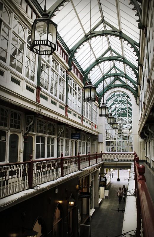 Cardiff Victorian Arcades