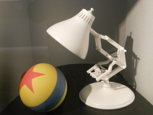 Luxo Jr. was the first Pixar film, released in 1986. The hopping lamp now serves as the company's icon.