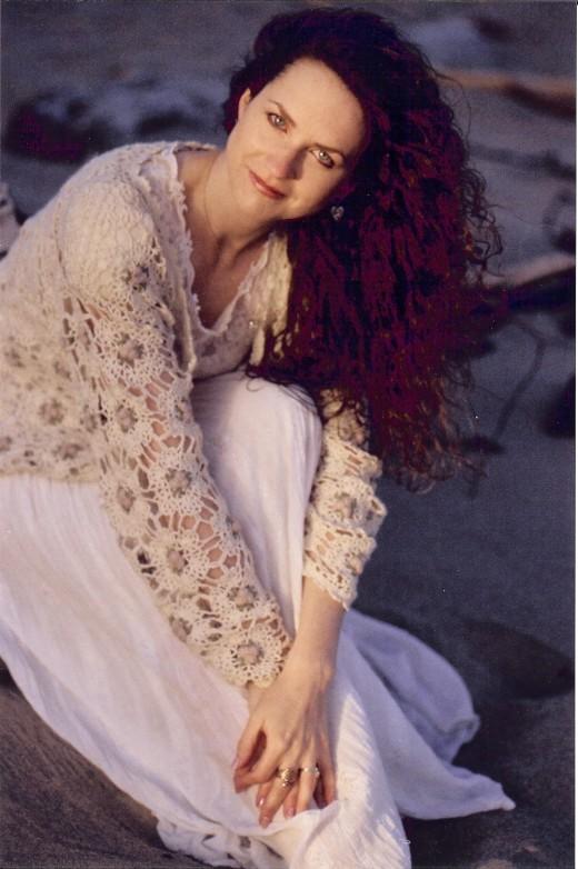 Heaven Leigh Faith in You CD photo shoot