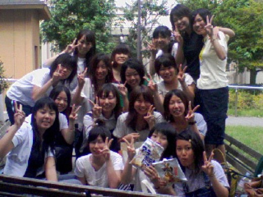 Some of my Japanese students.