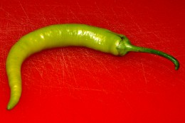 An inferno Hot Chili Pepper