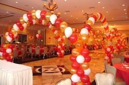 A Decorated Prom Venue
