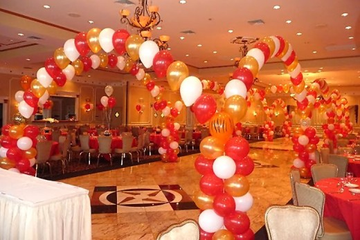 A Decorated Prom Venue