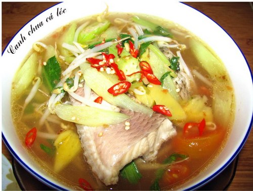 Canh Ca - fish canh