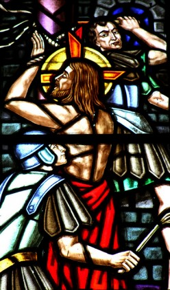 """JESUS, SON OF GOD suffered """"OUR"""" pains, took our punishment on the cross."""