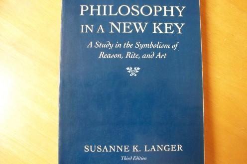 Philosophy in a New Key, by Susanne Langer