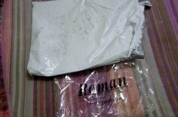 These are the packages it came it.  Each shirt came in a clear plastic package and all the shirts came in the big white UPS package.