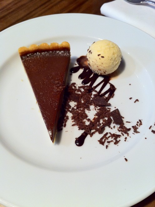 To die for Chocolate Tart