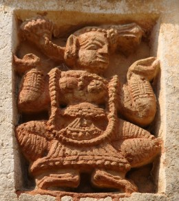 Gaudiya Nrittya; Shyam Ray temple, Vishnupur 4