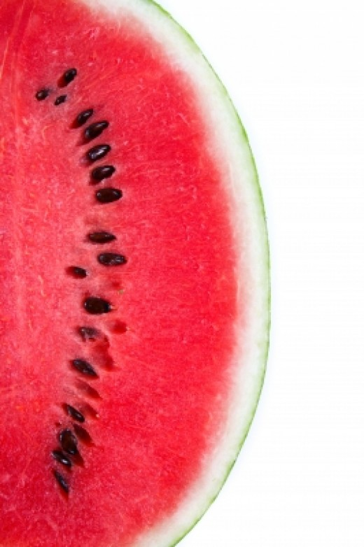 Watermelon is one of the best sources of lycopene which helps protect skin from the sun.