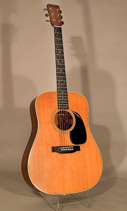 johnny cash and his prized martin d 28 acoustic guitar the flatpicking guitarist. Black Bedroom Furniture Sets. Home Design Ideas