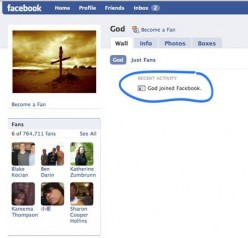 What if God had a Facebook Page?