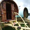 Sadly , not the best picture of a Real Romany caravan,   you must visit next year and see for yourself.