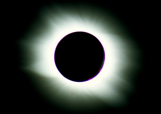My photo of an eclipse. Astronomy is one of my hobbies and science will undoubtably feature in some of my HubPage reviews