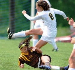 Soccer Game Head Shot Photo