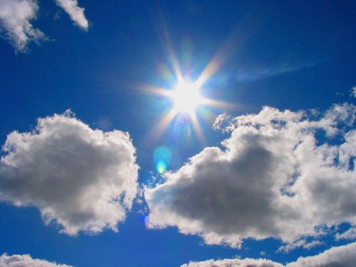Sunlight naturally boosts endorphins