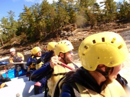 First Time at Ottawa River Rapids - White Water Region