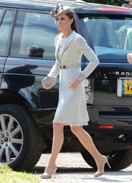 Kate in Katherine Hooker coat