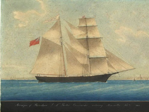 Brigantine Amazon was later renamed Mary Celeste.