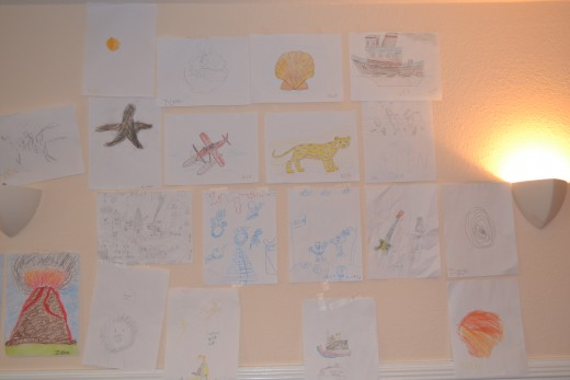 Most entries in the art gallery contest