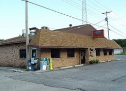 Nothing is as depressing as a once-thriving restaurant that is now used for a storage building.
