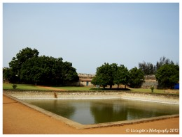 The water tank, might have been a bathing place, in the Fort