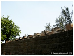 The walls of the Fort