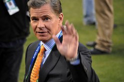 "DAN PATRICK formerly of ESPN, now has his own show on The Audience Channel on DirecTV. Catch phrase: ""Bang, biscuit!"""