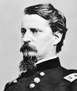 General Winfield Hancock, leader of the Second Corps of the Army of the Potomac