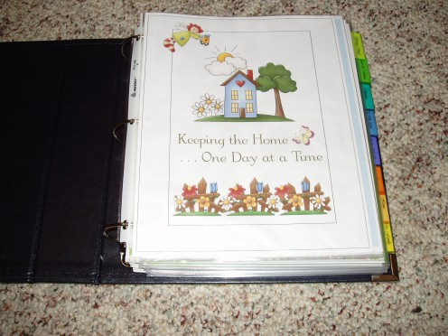 A home management notebook can help get you organized and make planning a snap.