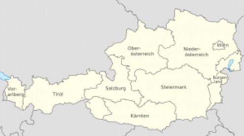 Parts of Austria