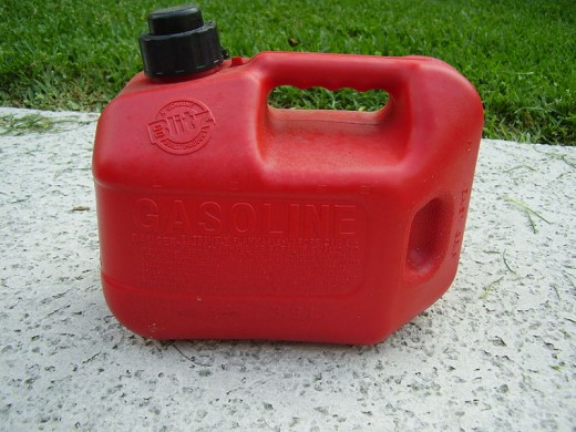 Typical portable gas canister