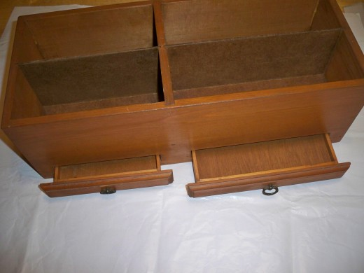 Set Up Separate Work Area for Drawers.