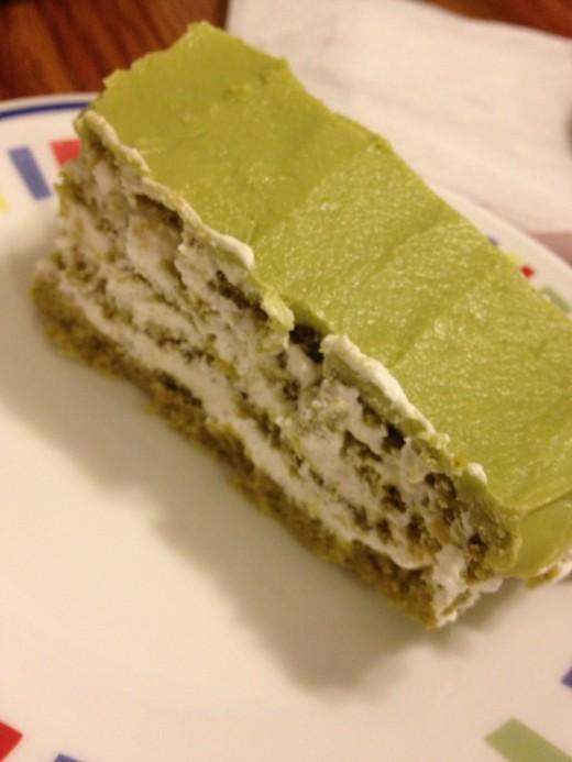 Matcha Green Tea Génoise Cake