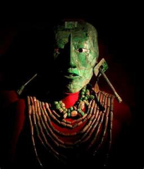 Death mask of Pakal the Great
