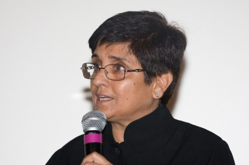 Dr Kiran Bedi is an Indian social activist and a retired Indian Police Service (IPS) officer.