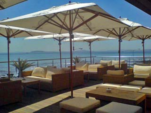 Enjoy fresh seafood and sushi overlooking the ocean at Wakame