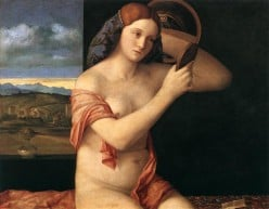 Young Woman in the Mirror