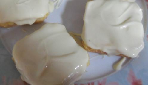 lemon bars with white chocolate