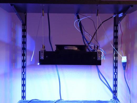 The author's LED array